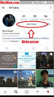 dm instagram,pesan instagram,kirim pesan instagram,mengetahui teman yang aktif