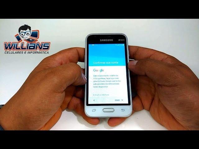 Desbloqueio de Conta Google Samsung Dezembro 2017