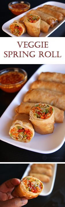 ★★★★☆ 7561 ratings   Veg Spring Roll #HEALTHYFOOD #EASYRECIPES #DINNER #LAUCH #DELICIOUS #EASY #HOLIDAYS #RECIPE #Veg #Spring #Roll