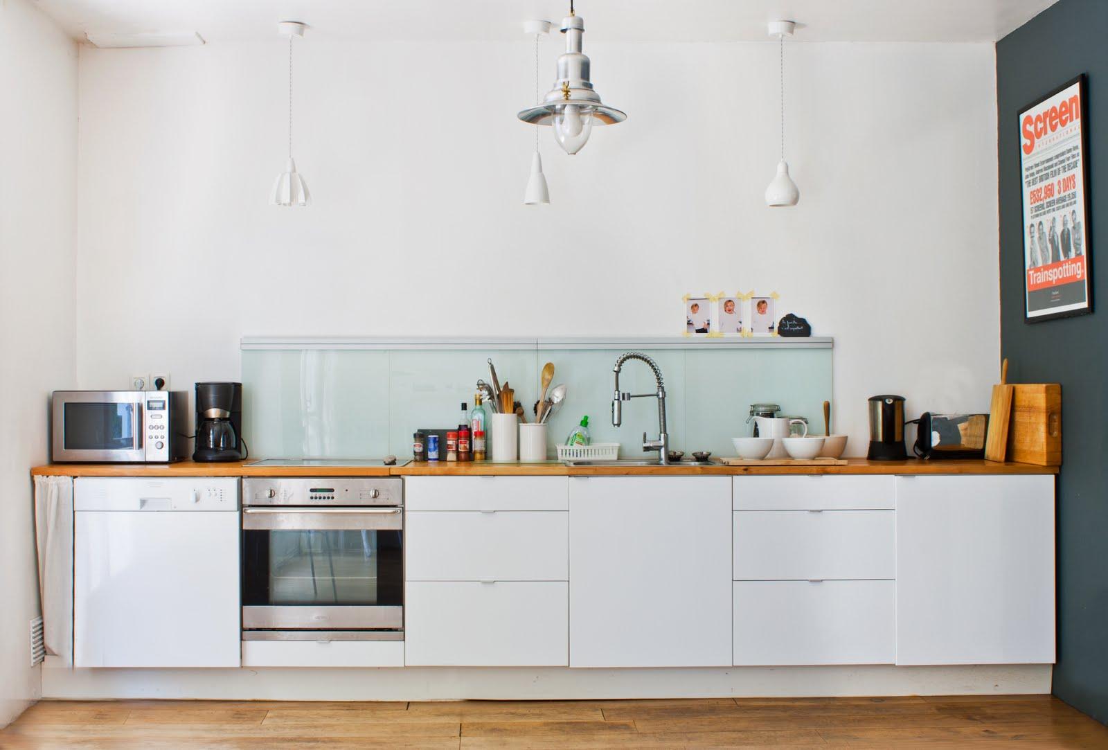 Justina Blakeney Home Black White Yellow Kitchen Inspiration