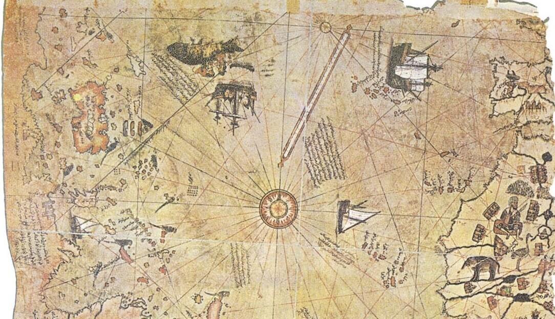Misteri Peta Piri Cetus Keanehan Antartika