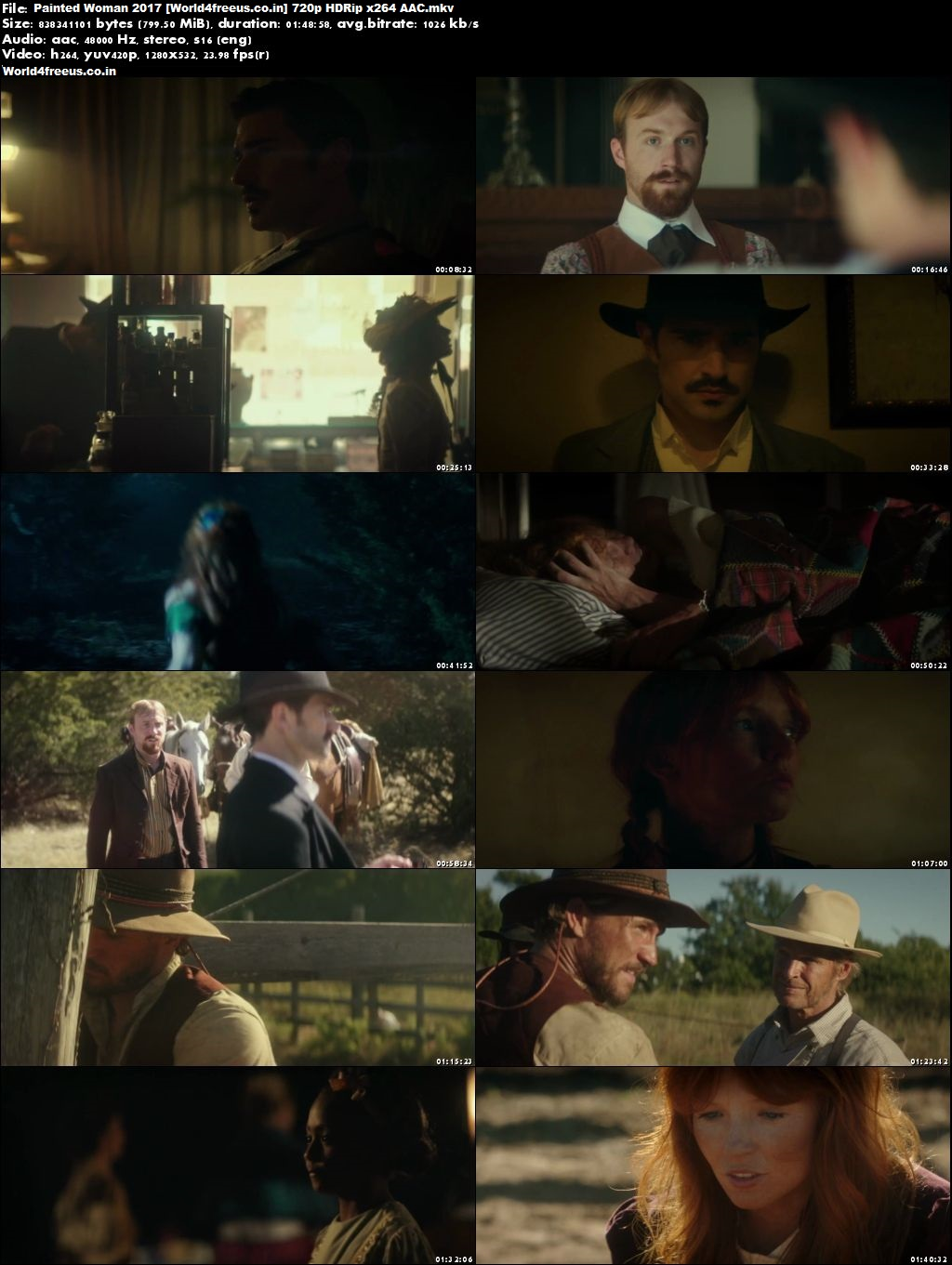 Painted Woman 2017 Full English Movie Download HDRip 720p