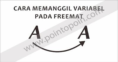 Pemanggilan Variabel Pada FreeMat