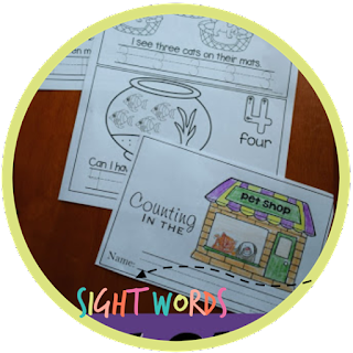 pet shop sight words reader