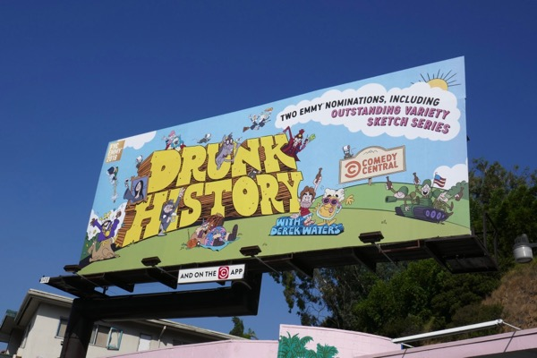 Drunk History season 5 Emmy nominee billboard