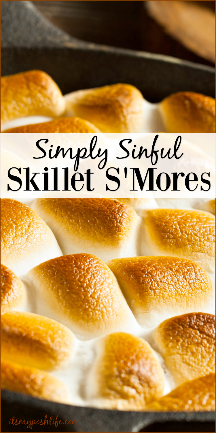 Simply Sinful Skillet S'Mores