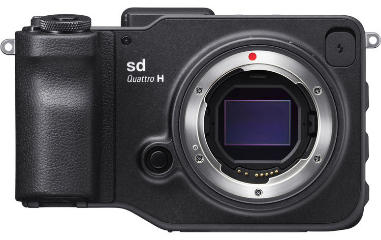 Sigma SD Quattro H, вид спереди
