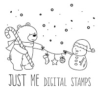 Just Me Digital Stamps