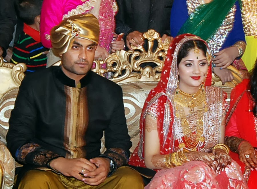 wedding of cricker tamim Iqbal