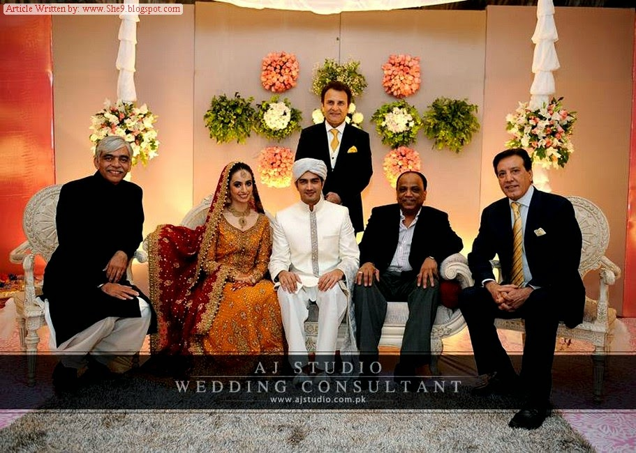 Shahzad Sheikh And Hina Mir Wedding Pictures Unseen