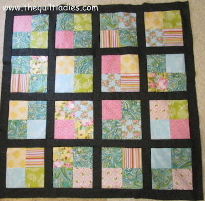 Simple Four Patch Quilt Pattern Free Tutorial
