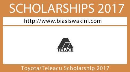 Toyota Telacu Scholarship 2017
