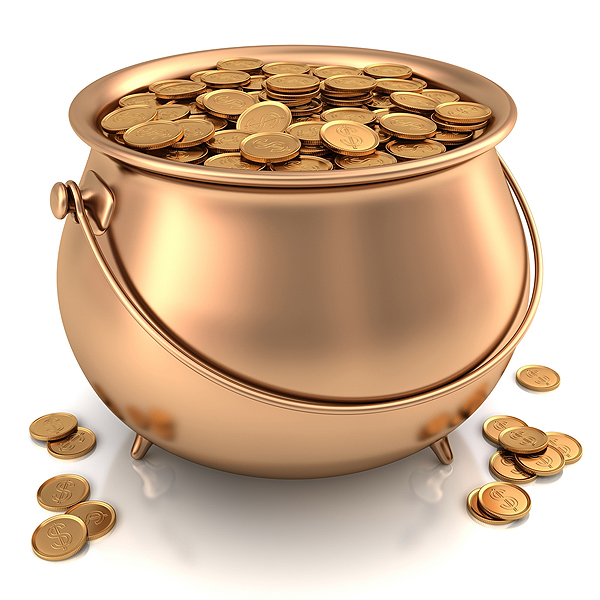 «Денежный горшочек» — ритуал, привлекающий деньги