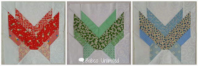 BabcoUnlimited.blogspot.com - Butterfly Quilt Block