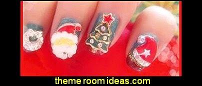 Christmas Nail Art  3D Alloy Rhinestone