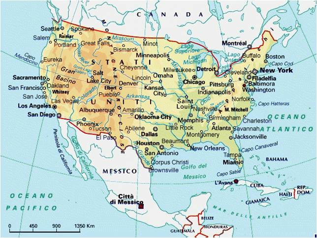 Cartina Fiumi Usa.Fuoriclasse Colorado Usa