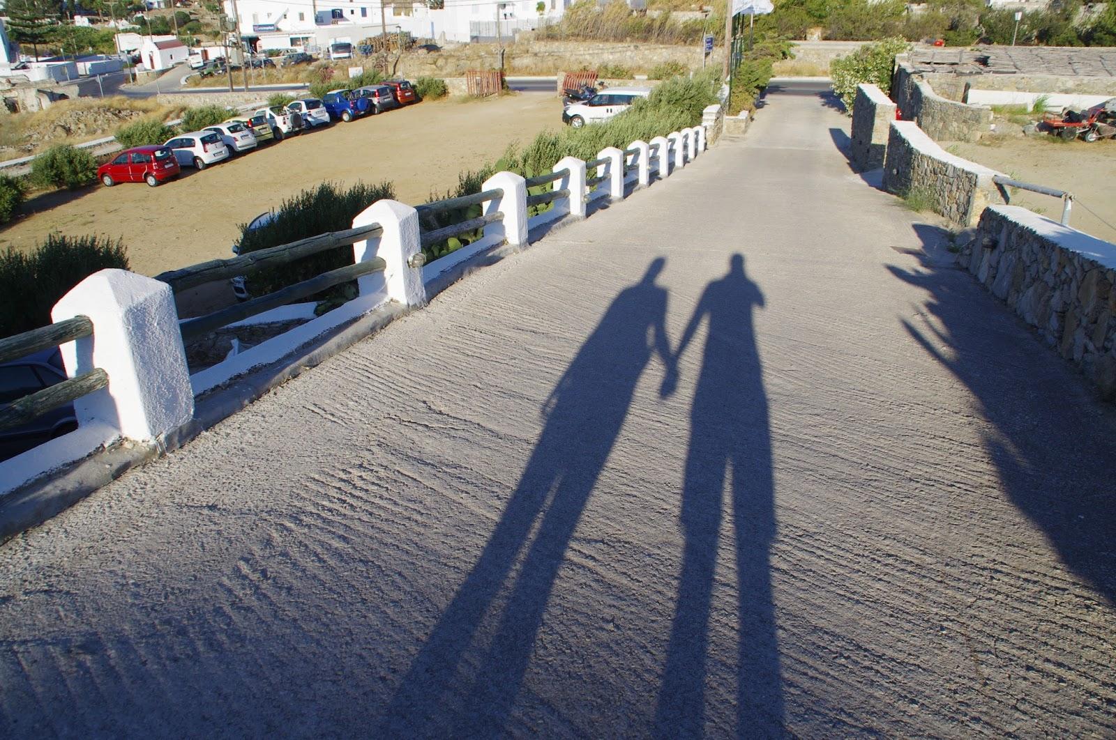 Shadow on Mykonos