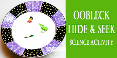 Oobleck Science Activity Horizontal