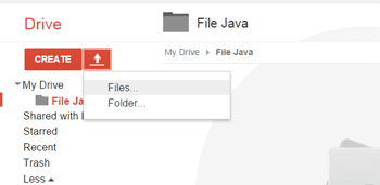 Tip upload file javascript blog ke google drive2