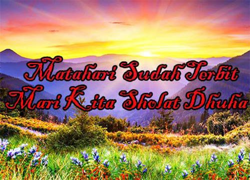 Niat Sholat Dhuha Waktu Doa Latin Mustajab Lengkap Sholat Dhuha Berapa Rakaat