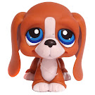 Littlest Pet Shop 3-pack Scenery Basset Hound (#222) Pet