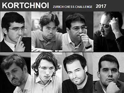 Korchnoi Zurich Chess Challenge - Photo © site officiel