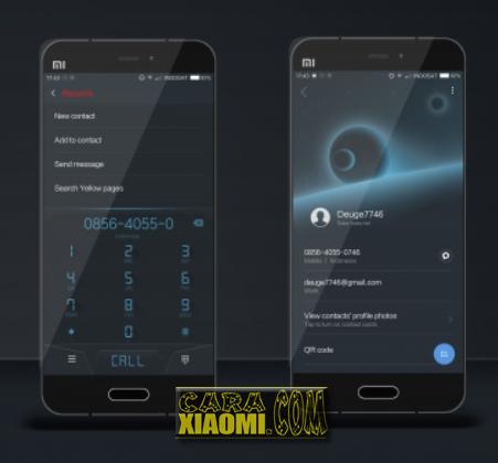 MIUI Theme BSR 999 Blank Space Reborn Mtz For Xiaomi