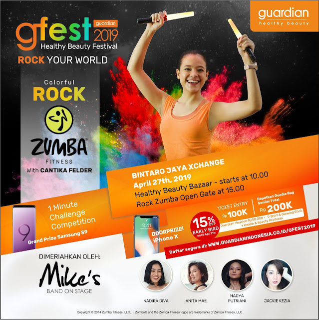 #Guardian - #Promo Event GFEST Guardian 2019 Healty Beauty Festival (27 April 2019)