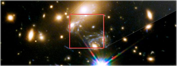 a estrela mais distante do Universo