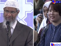Video: Wanita Ini Bersyahadat lalu Menangis Dalam Acara Dr Zakir Naik di Bandung