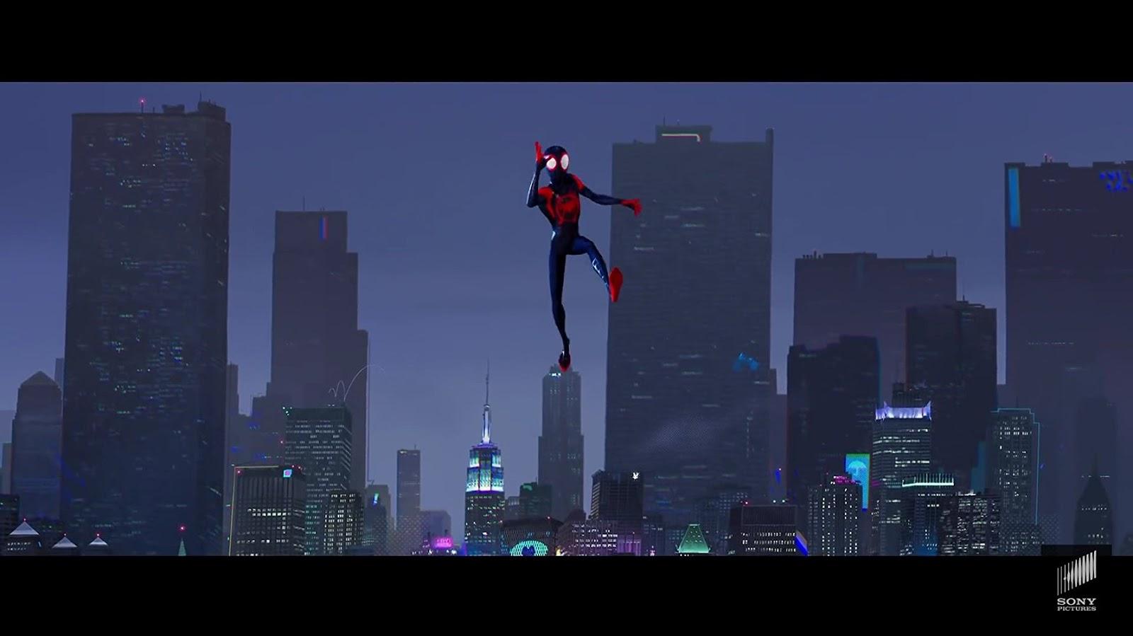Spider Man Un Nuevo Universo Sinopcine