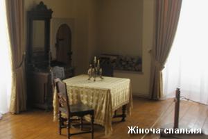 Жіноча спальня в замку