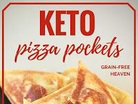 KETO PIZZA POCKETS