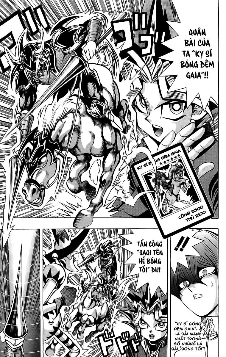 YUGI-OH! chap 37 - tử chiến trang 14