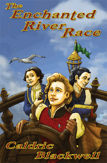 early chapter book, enchanted river race, caldric