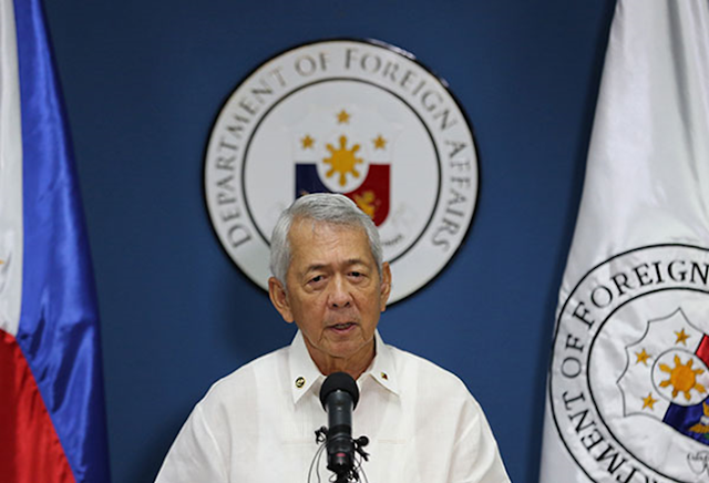 We do not condone and will never condone any unlawful killings –Yasay