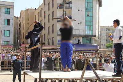 Public flogging in Iran