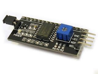 I2C LCD Module for arduino