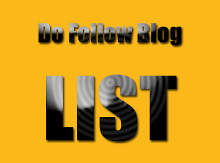 DoFollow Blogs List