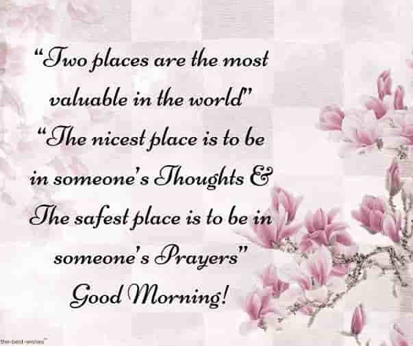 good morning sms and wishes