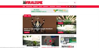 Viralisme responsive magazine blogger template