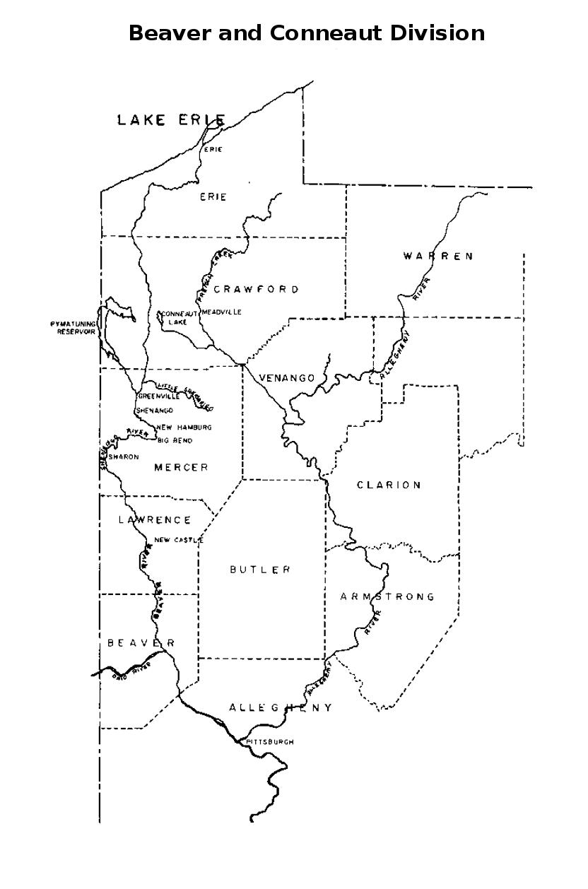 Beaver and Conneaut Division, Erie Pennsylvania