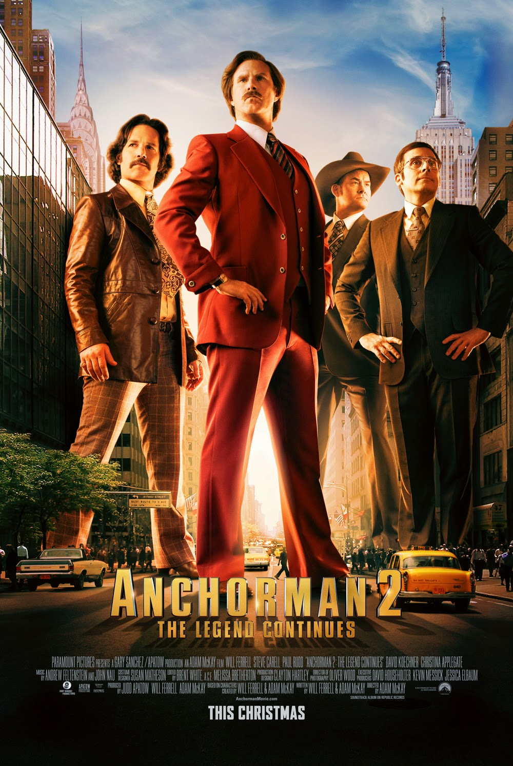New on DVD & Blu-ray: 'Anchorman 2: The Legend Continues