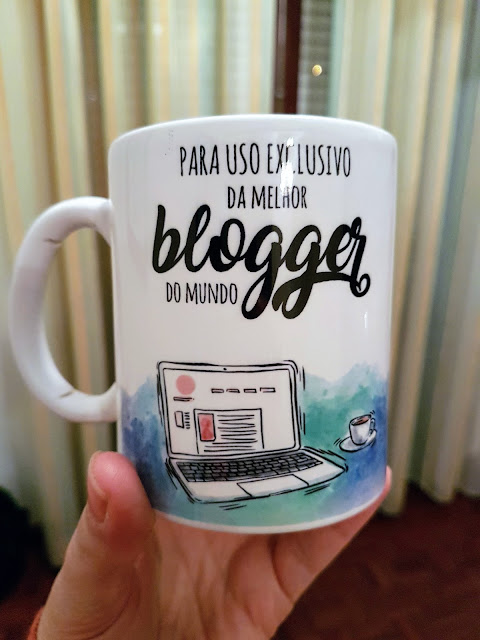 Cara ou Coroa Caneca para a Melhor Blogger do Mundo