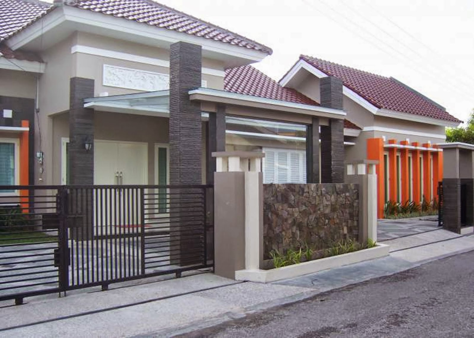 61 Desain Fasad Rumah Minimalis 1 Lantai Desain Rumah