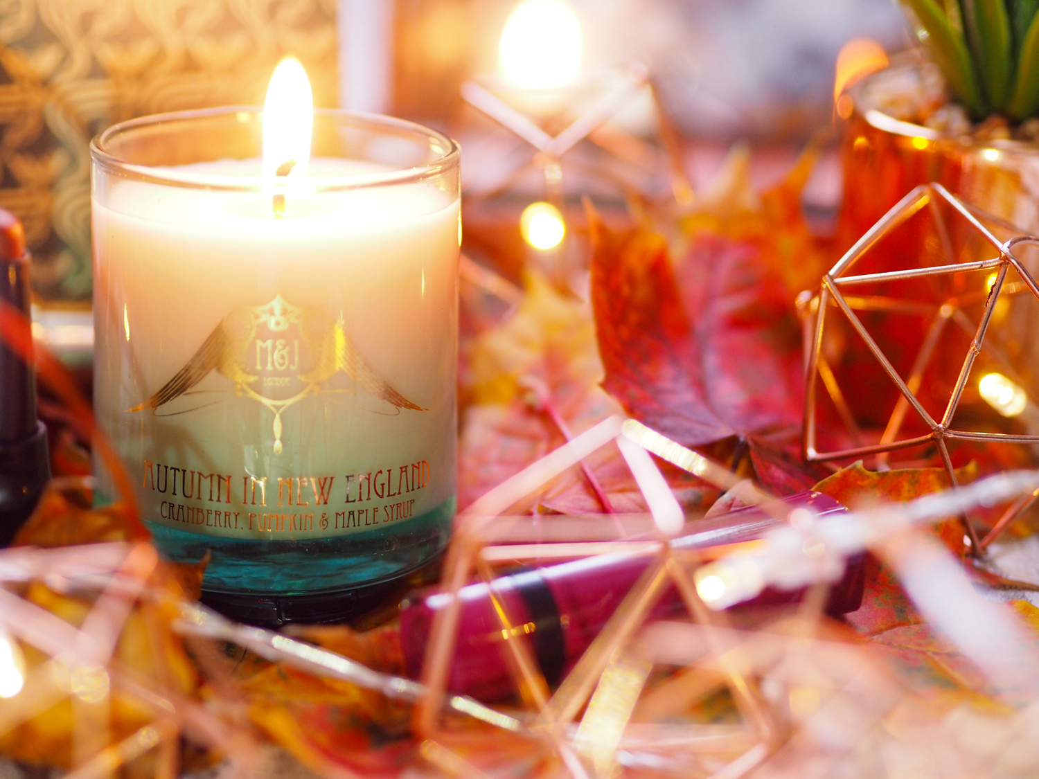 M&J London Autumn in New England Candle Review