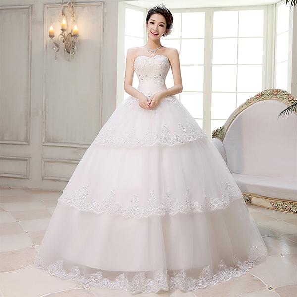 Chụp ảnh cưới - Mẫu váy cưới đẹp cho cô dâu mang bầu