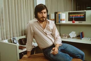 Young Apple boss in 70's