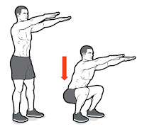 Bodyweight squat