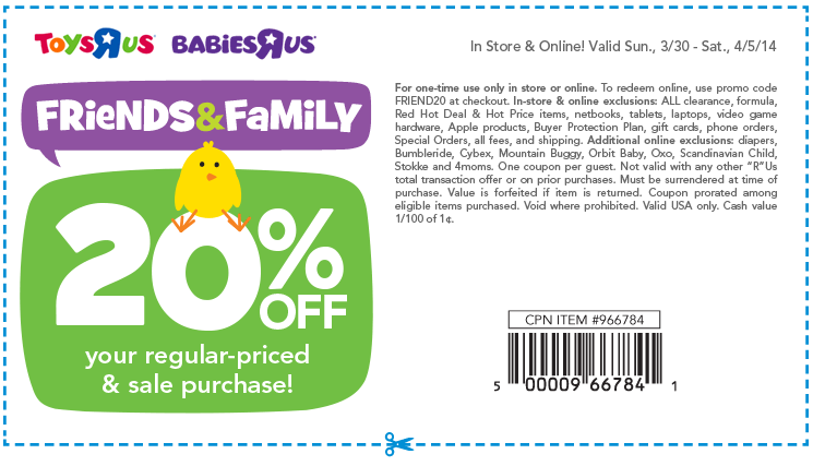 photo relating to Printable Babies R Us Coupons called Toddlers R Us Printable Discount coupons May possibly 2018